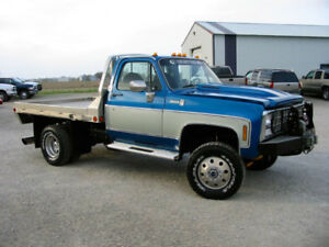 ISO: Dually cab and chassis