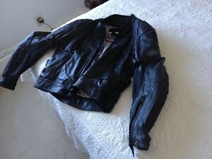 First Gear Full protection leather jacket tight 46