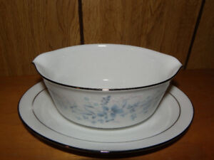 vintage gravy bowl and vegetable server