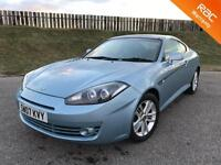 2007 HYUNDAI COUPE SIII 1.6 16V 103PS - 84K MILES - F.S.H - 1 OWNER - SPORTS CAR - 3 MONTHS WARRANTY