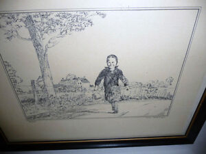 """Peter Etril Snyder """"The Errand"""" Signed and Numbered  (62/250) Stratford Kitchener Area image 2"""