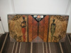 African Art on Canvas