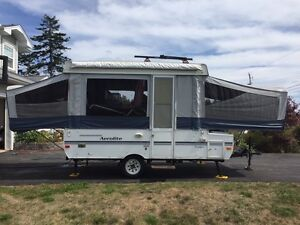 Areolite voyager tent trailer