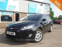 2012 Ford Focus TITANIUM TDCI 115 1.6 5dr DIESEL ESTATE 1 OWNER £20 TO TAX