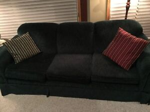 sofa, loveseat, wing chair , matching cusions (5)