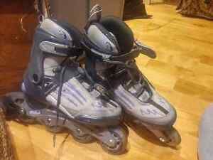 New Rollerblade PLUS protective gear
