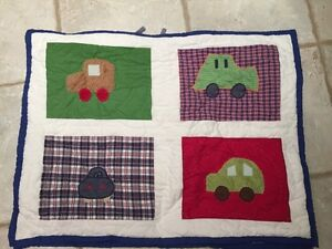 Pottery Barn Quilted Pillow Shams (2)