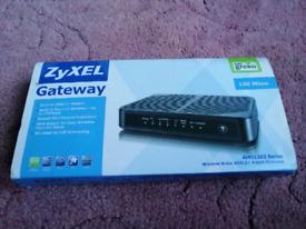 ZyXEL Gateway AMG1202 Series Wireless N-lite ADSL2+ 4 port Gateway.