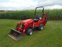 2012 Massey Ferguson GC2610 TLB Backhoe, 25 Hp, 379 Hrs Nice!