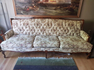 Victorian Style Sofa and Chair -- $200 OBO