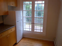 One bedroom $650/month all utilities included in quiet building