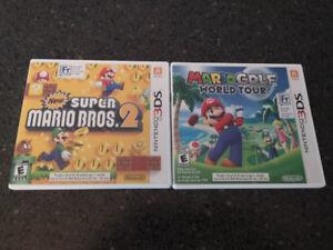 Mario Golf World Tour + Super Mario Bros 2 - Nintendo 3DS