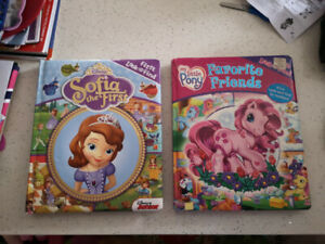 Large look and find board books