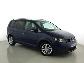 2012 VOLKSWAGEN TOURAN 1.6 TDI 105 BlueMotion Tech SE 5dr MPV 7 SEATS