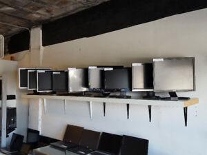 Écrans LCD 19po 20$ - 19po Wide 30$ - 20po 35$ - 20po Wide 40$