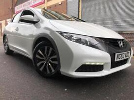 Honda Civic 2014 1.6 i-DTEC SE-T 5 door 1 OWNER, SAT NAV, £0 ROAD TAX, LED, F/L