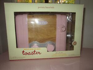 Pottery Barn Kids Pink Wooden Toaster Belleville Belleville Area image 6