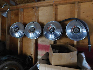 some 3-4  nos wheel disks  and lots of others 3 spinners