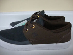 3 pairs of DC skate shoes size 9