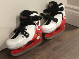 Size Junior 9-12 Skates