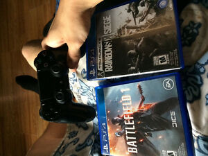 Ps4 games & controller for sale