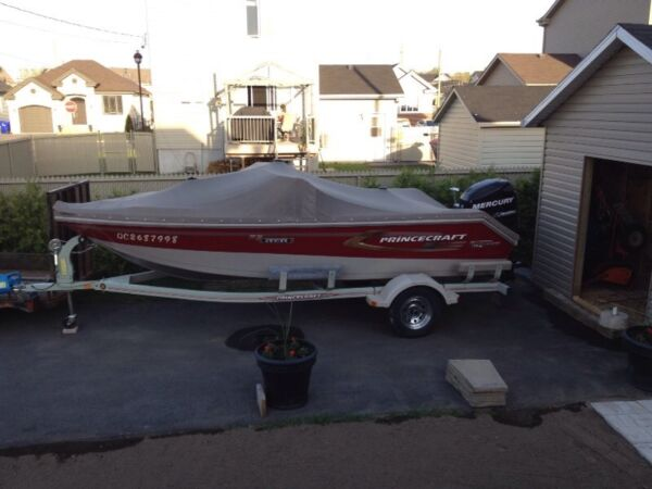 Used 2007 Princecraft super pro 176
