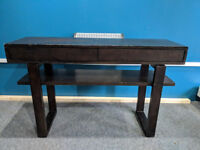 Hallway / Console table with matching side /coffee table