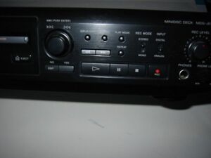 Sony MiniDisc with Remote