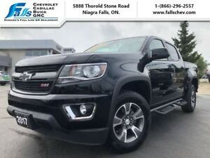 2017 Chevrolet Colorado Z71  NAV,V6,4X4,CREW,REARCAM,R.START