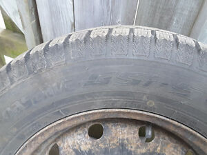 4 Toyo Observe 215 65 R16 Winter Tires on Rims for Sale