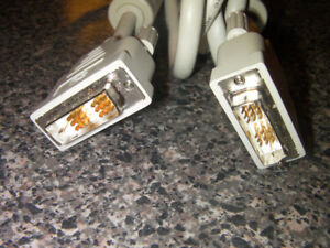 DVI to DVI LCD Monitor Cable 10 Foot