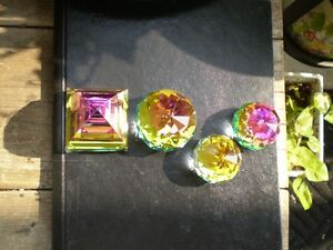 Swarovski Crystal Colored Paper Weights Kitchener / Waterloo Kitchener Area image 7