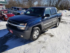 CHEVROLET AVALANCHE Z71  4X4 *** CERT $8995 *** 100% APPROVED