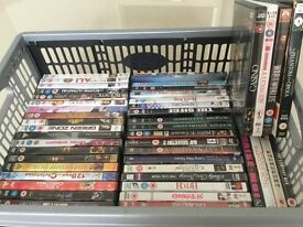 Crate of 50 Assorted DVD's - Fantastic Value