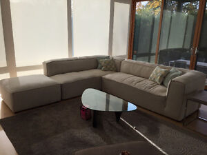 Modern Sectional with Ottoman (purchased at ELTE)