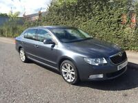 ***2009 SKODA SUPERB 2.0 TDI CR LEATHER ALCANTARA ALLOYS*** £4499!