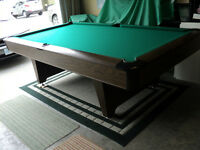 4 1/2 X 9 NATIONAL POOL / SNOOKER TABLE