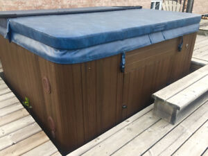 Hydropool Self Cleaning 4-5 person hot tub - works perfectly!