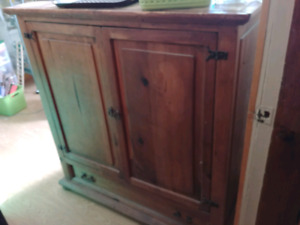 Mexican pine cabinet
