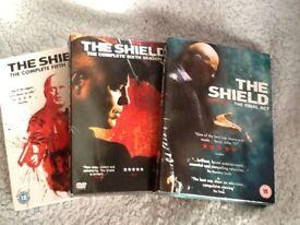 The Shield seasons 5, 6 & 7