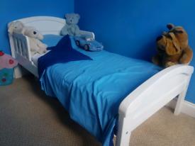 Toddler Bed, Kiddicare, White