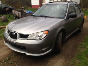 2007 Subaru Impreza Base Wagon