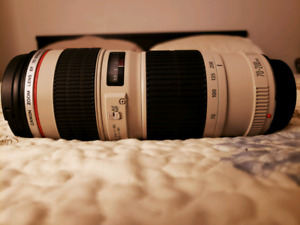 Canon 70-200 F4L USM Mint Condition