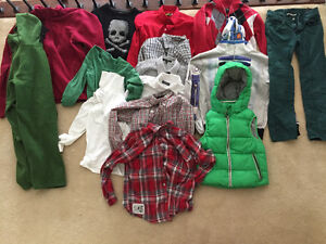 Large bag boys fall clothes