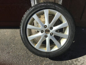Alloy rims and winter tires. It is that time!