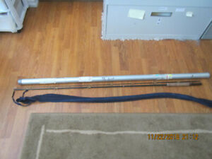 9.5 ft  graphite fly fishing rod