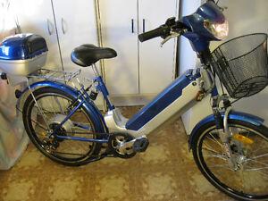 Vélo Électrique Rechargeable VELEC B5 36V( État Neuf) 7vitesses