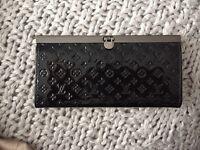 Louis Vuitton black patent purse