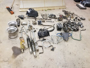 Bombardier ds650 atv parts