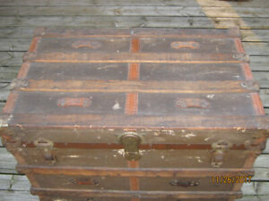Antique Steamer Trunk from the Late 1800's